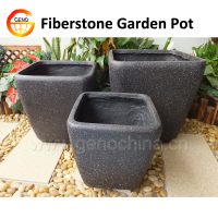 Fiberclay Garden frost resistant pot for plant planter