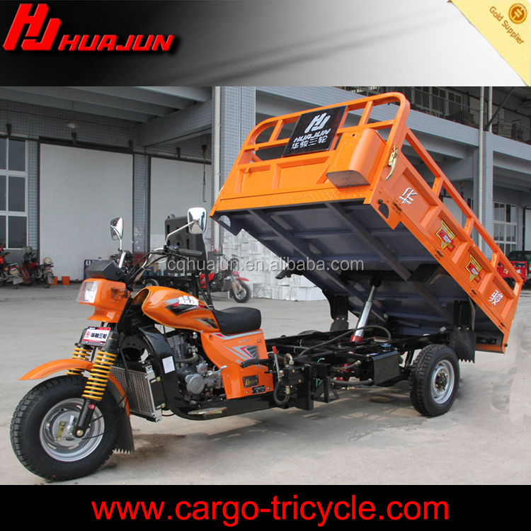 hydraulic dump system China cargo tri motorcycle