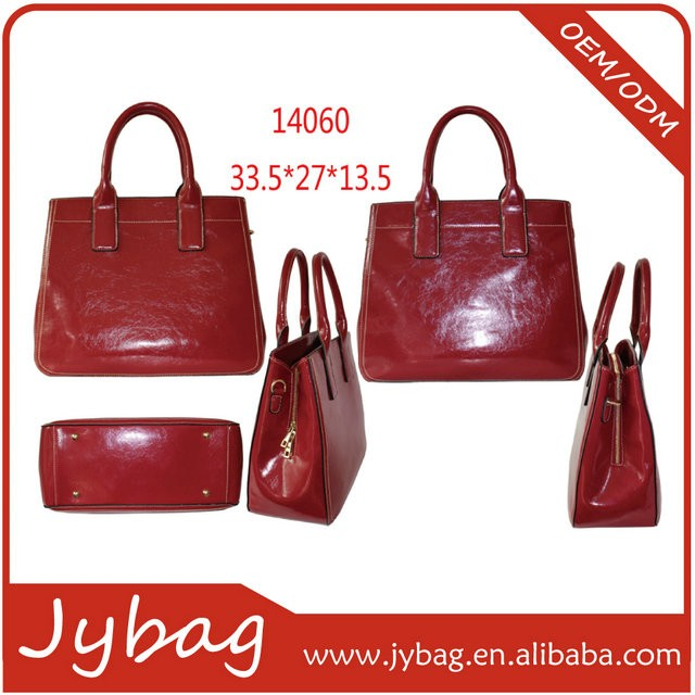 First Layer Genuine Cow Leather Briefcase For Professional Women ...