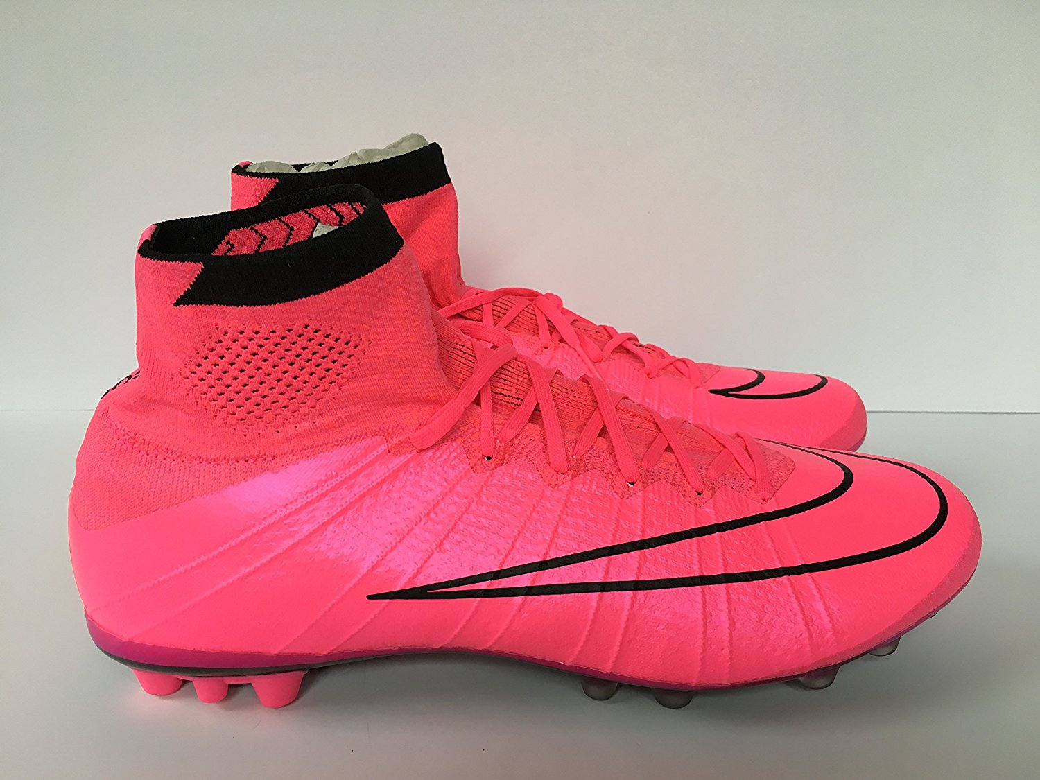 timeless design 58ccb 105c3 NIKE MERCURIAL SUPERFLY AG-R HYPER PINK-BLACK Sz 11  717138-660