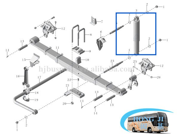 high performance universal buses air suspension system parts repair kits