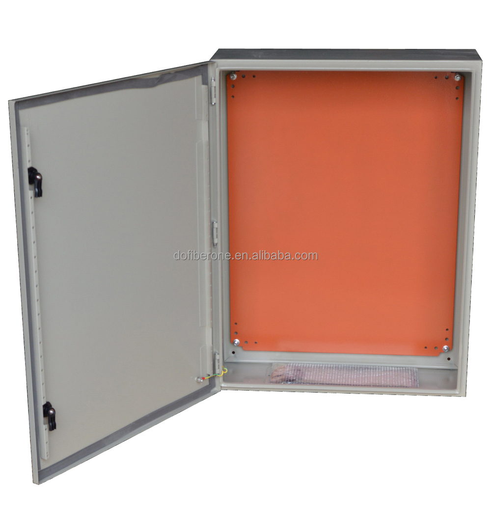 metal electric and telephone optical distribution box