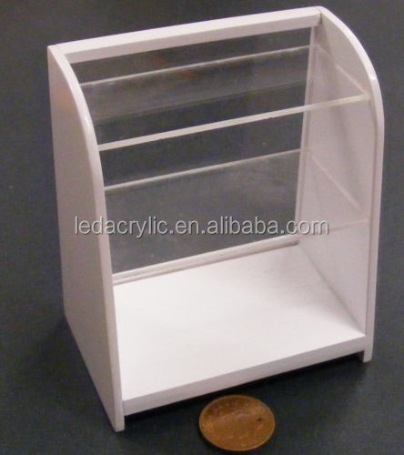 Wood & Acrylic Shop Display Case for Dolls House Miniature Accessory