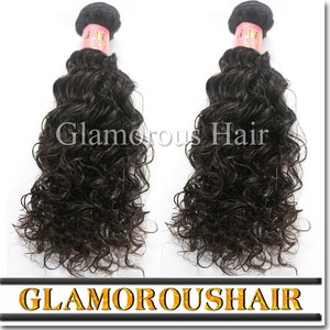 Cheap bundles of wet and wavy indian remy /original brazilian human hair/ virgin brazilian wavy hair