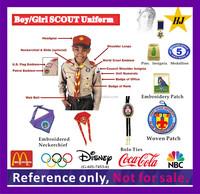 Boy/Girls Scout Uniform insignia