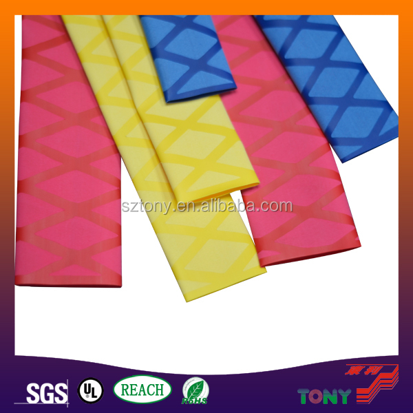 Hot Sale Bright Color Flower-lined Heat Shrikable Polyethylene Tube For Golf