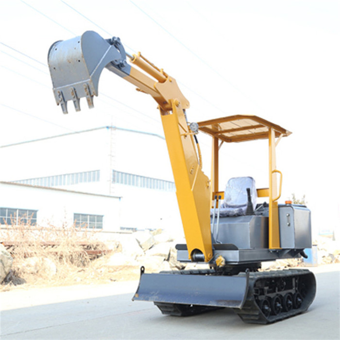0.2m3 small clamshell bucket excavator