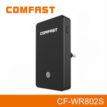 300Mbps Thinnest Business wifi wireless Router/Repeater/AP with SD card slot and music Airplay function COMFAST CF-WR802S
