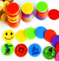 OEM plastic products colorful custom plastic game token