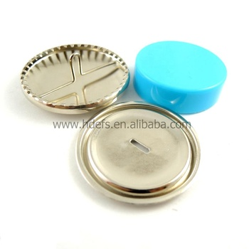 Assembly tools for fabric cover button wire back