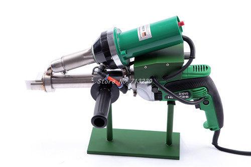 New 1600w Hot Air Plastic Welder Gun Vinyl Extruder Pipe