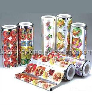 Bubble Tea Plastic Cup Sealing Film For Bottle,Cup