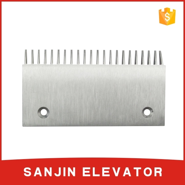comb plate for escalator, used escalator