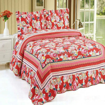 high quality embroidered red quilt bedspreads buy high quality