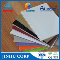 aluminium-plastic panel 4mm pe aluminum composite panel/acm building facing materials