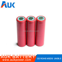 1x18650 Lithium Rechargeable Battery AA Batteries 2200mAh With 3.7V