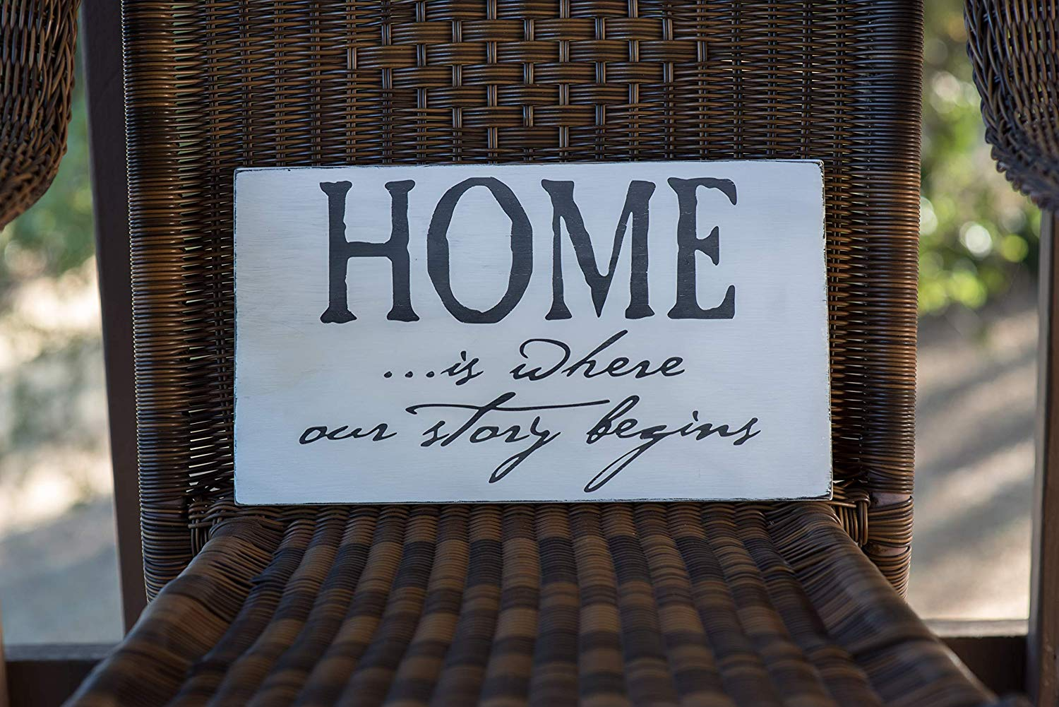 Home wood sign, wood sign, new home sign, farmhouse, rustic wood sign, weathered wood sign, Hand Painted Wood Sign