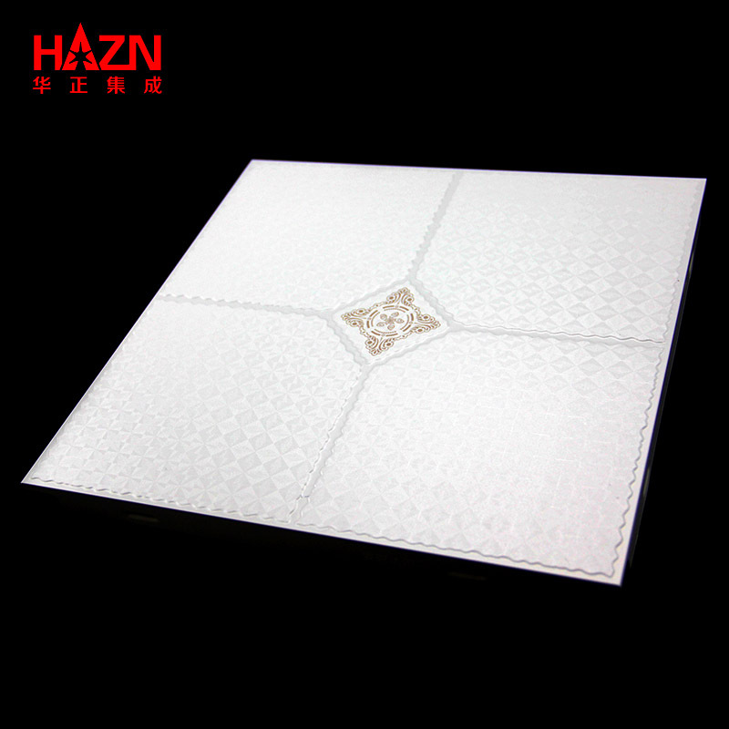 Thick square metal ceiling panels aluminum alloy integrated ceiling panels system
