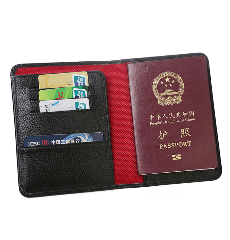 Desk Accessories & Organizer Office & School Supplies Peerless Pu Leather Lavender Passport Holder Cover Id Card Travel Ticket Pouch Packages Passport Covers Card Holder