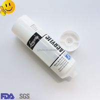 New design plastic tube packing / food grade clear plastic tube packaging