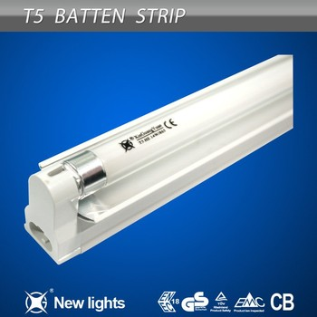 Awesome 0 3mm Aluminum Housing T5 1 14W Fluorescent Light Fixture with Plastic Cover Style - Simple Elegant t5 fluorescent light fixtures New Design