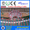 GALAXY New Product For Outdoor Snow Melting Roof&Gutter Defrost Underfloor Heating Cable