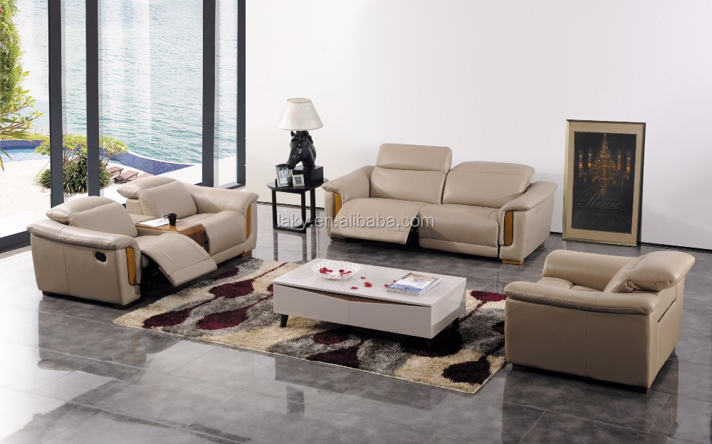Italian Leather 1 2 3 Electric Recliner Sofa Set Buy Electric