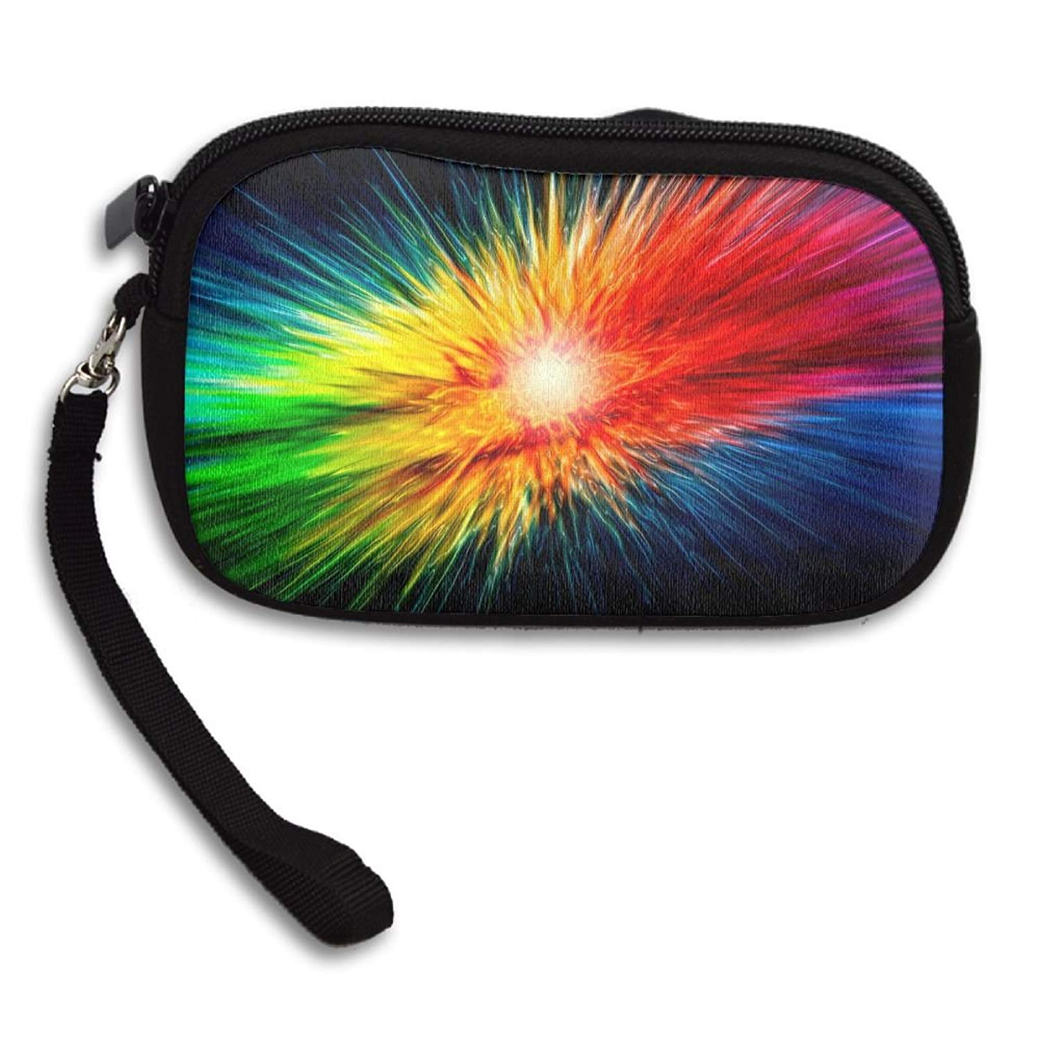 Colorful Explosion Deluxe Printing Small Purse Portable Receiving Bag