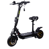CE Rohs Adult HS Code Okai Elektro 48V Dual 1000W Motor E Scoter 2000W Scuter Electric Scooter With Seat