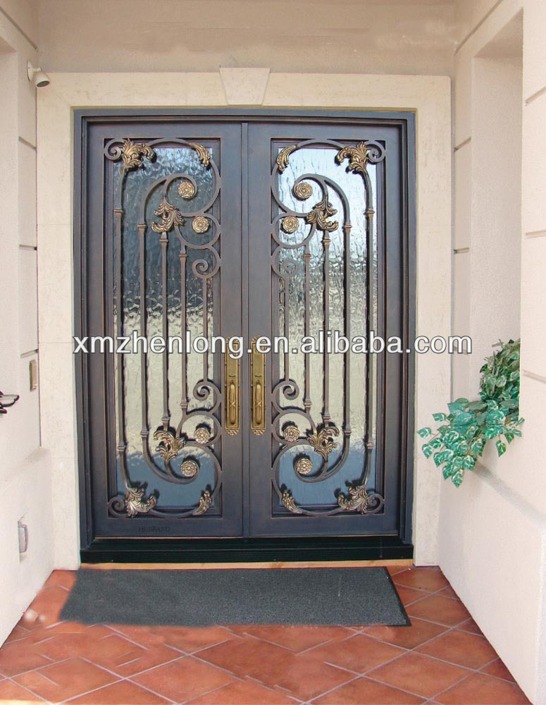 Iron Door Grill Design, Iron Door Grill Design Suppliers And Manufacturers  At Alibaba.com