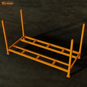 Heavy duty stackable storage and display metal tire rack