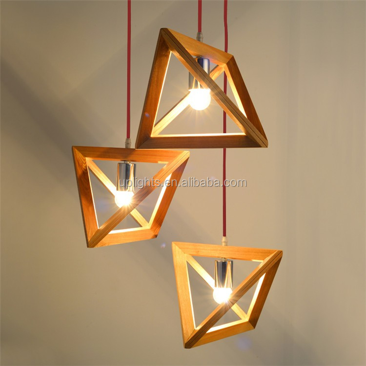 High Quality Wood Pendant Light From Zhongshan Guzhen Lighting ...
