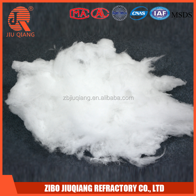 Refractory high temperature filling cotton stuffing fiber