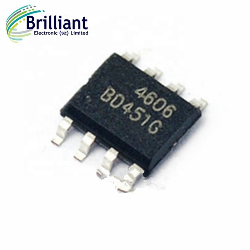 10 PCS AO4607 SOP AO 4607 Complementary Enhancement Mode Field Effect Transistor