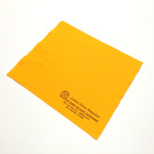 Reusable super soft microfiber glass cleaning cloth