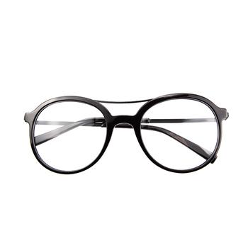 Latest Trendy Spectacles Acetate Eyeglasses Frame With Double Bridge ...