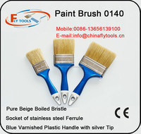 hot sell Green color wooden handle/nature bristle paint brush