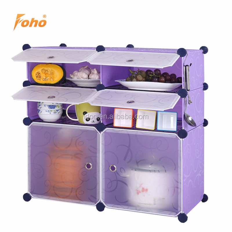 Portable Plastic Widen Ready Made Kitchen Cabinets For Storage Use Fh Aw064310 6 View Idoo Product Details From Yongkang F H