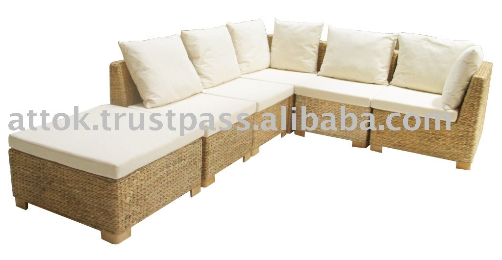 Banana Rattan Sofa Set Furniture Product On Alibaba