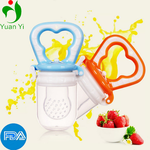 FDA Approved Baby Chewing Fresh Fruit Food Feeder/Silicone Teething Toy/Pacifier/Soother/Nipple