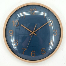 May time Round modern looks quartz plastic wall clock from china