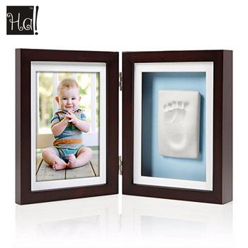 Newborn Baby Gift Set Room Decor Hand Print And Footprint Clay ...