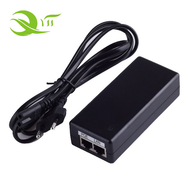 Desktop Type Passive POE 24v 1a homeplug powerline adapter