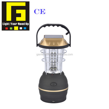 Ce Solar Camping Light Led Lantern Foldable Camp Lights