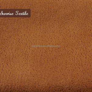 woven textured polyester embossed upholstery fabric