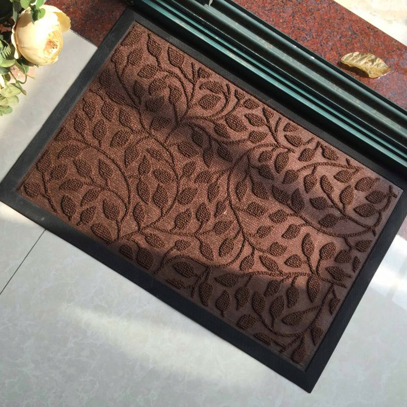 Velvet Clean Mud Scraper Doormats