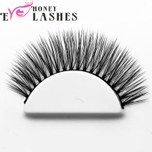 Qingdao Handmade 3D silk lashes false eye lashes private label custom eyelash box