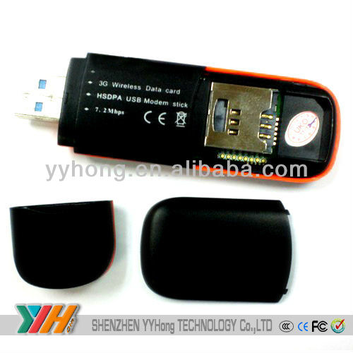 EVDO 2.4Mbps 3G Modem Support windows7 system