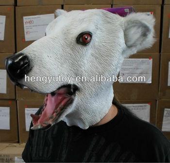 latex full overhead polar bear head mask buy bear head mask bear