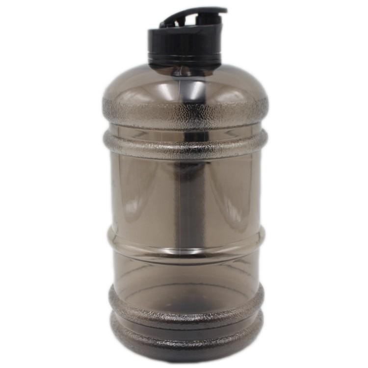 BPA Free Blank Black Custom 2L Protein Shaker Plastic Bottle